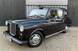 1996 FX4 Fairway London taxi - Barons Friday 20th September 2019 SOLD by Auction