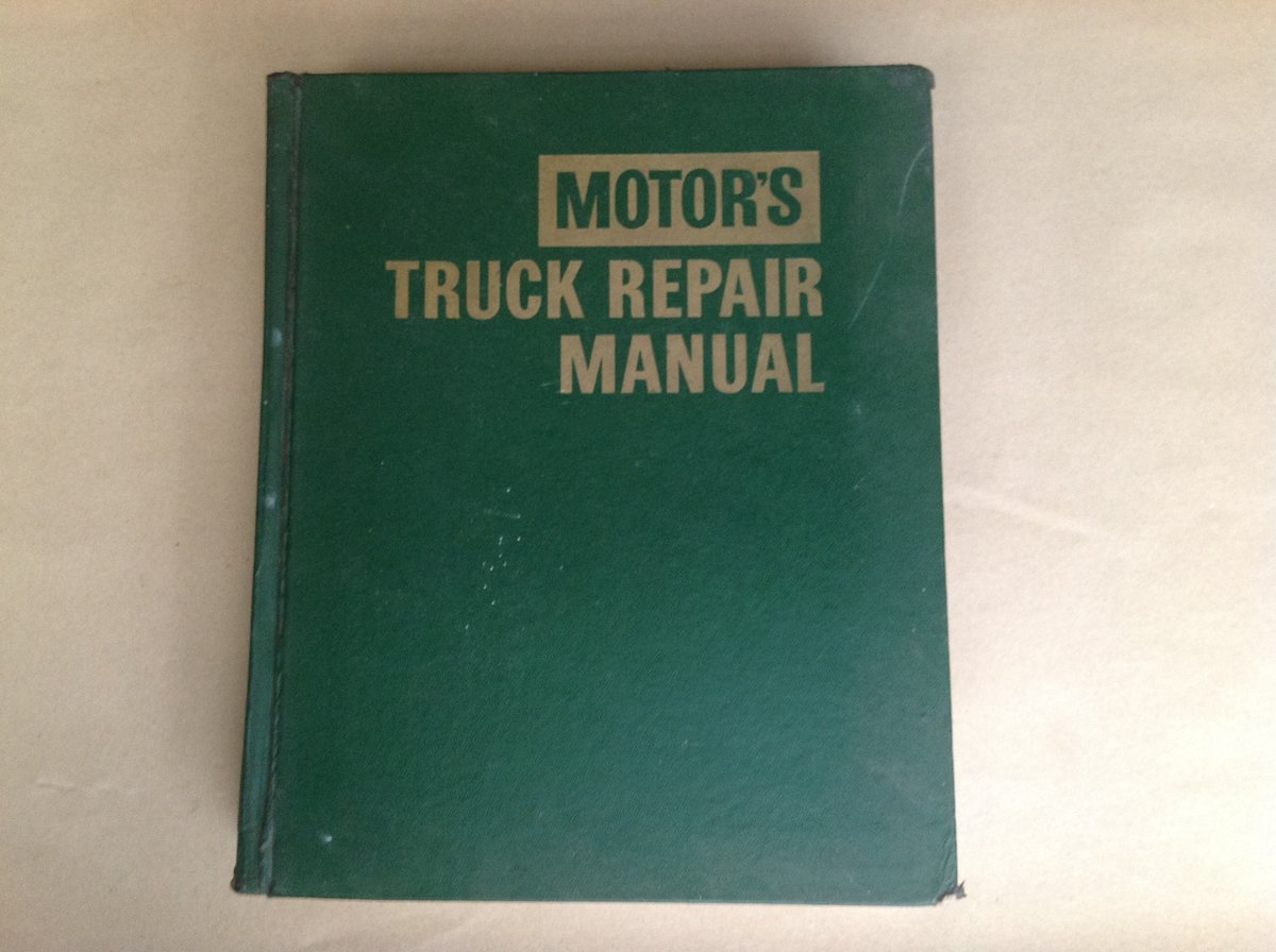 Motors Truck Repair Manual 23rd edition 1970  For Sale (picture 1 of 4)