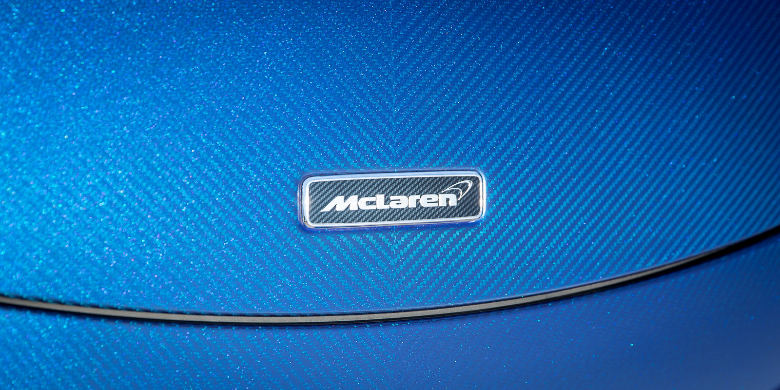 2012 McLaren 675LT Spider Carbon Series in Metallic blue clear For Sale (picture 2 of 6)
