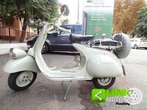 1956 Vespa Piaggio 125 cc. Faro Basso iscritta FMI For Sale