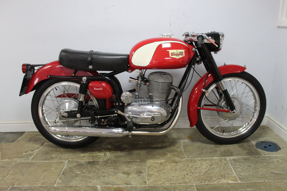 1961 Bianchi Tonale 175 cc OHC  Sport Deluxe , Gorgeous  SOLD (picture 1 of 6)