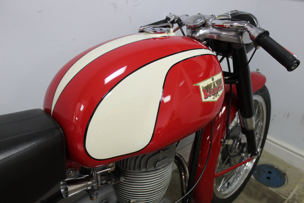 1961 Bianchi Tonale 175 cc OHC  Sport Deluxe , Gorgeous  SOLD (picture 3 of 6)