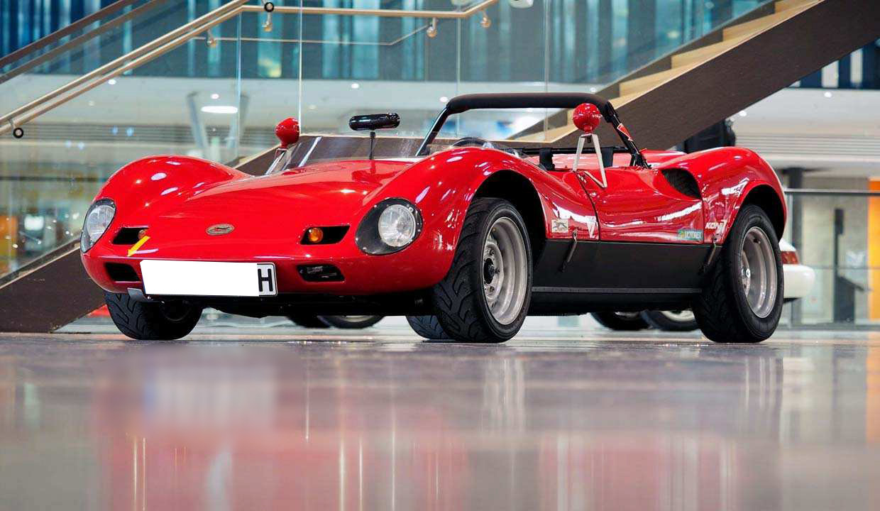 1966 SBARRO ACA Spider Prototype unique and street legal/ Unikat For Sale (picture 1 of 6)