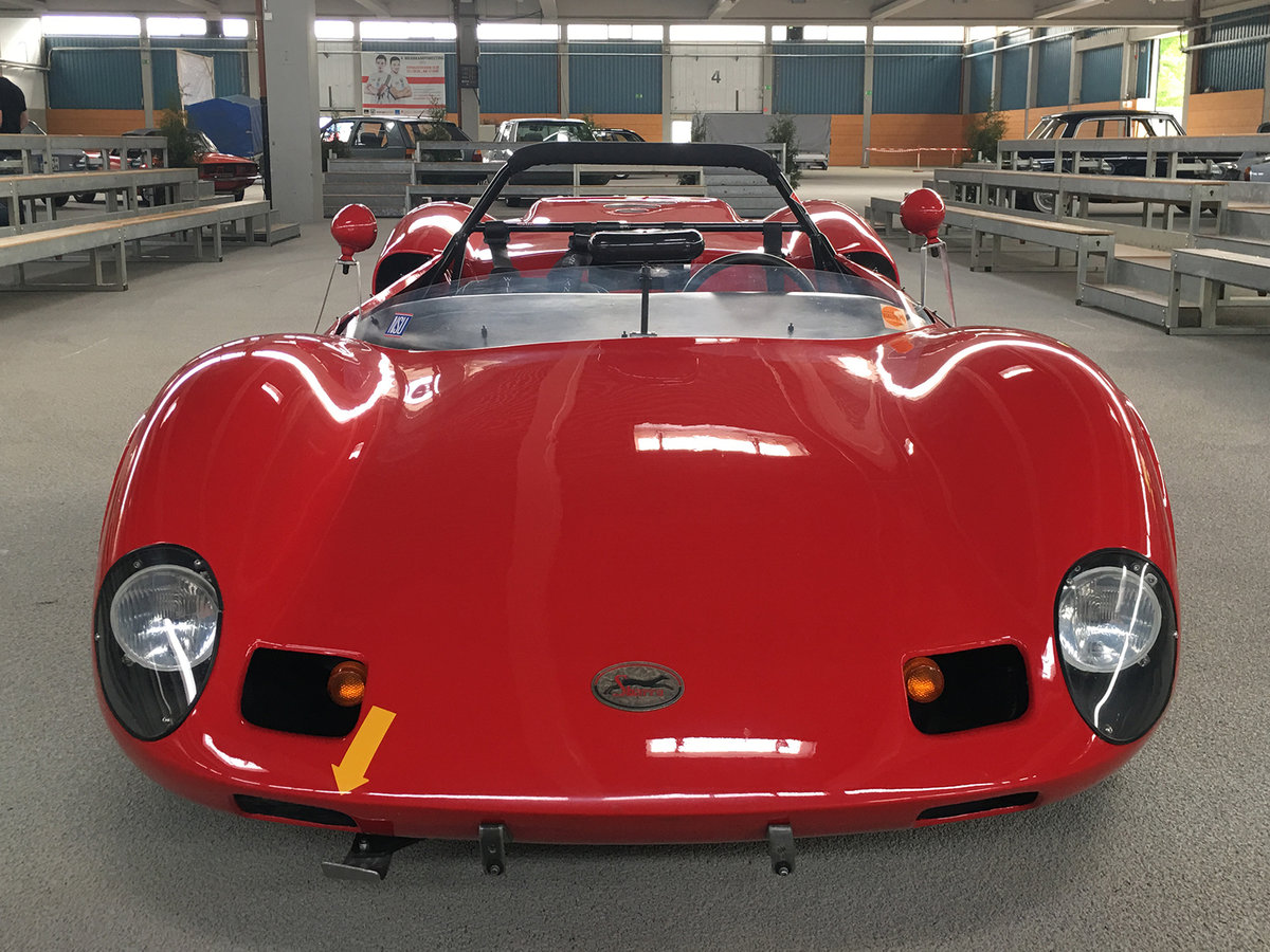 1966 SBARRO ACA Spider Prototype unique and street legal/ Unikat For Sale (picture 2 of 6)