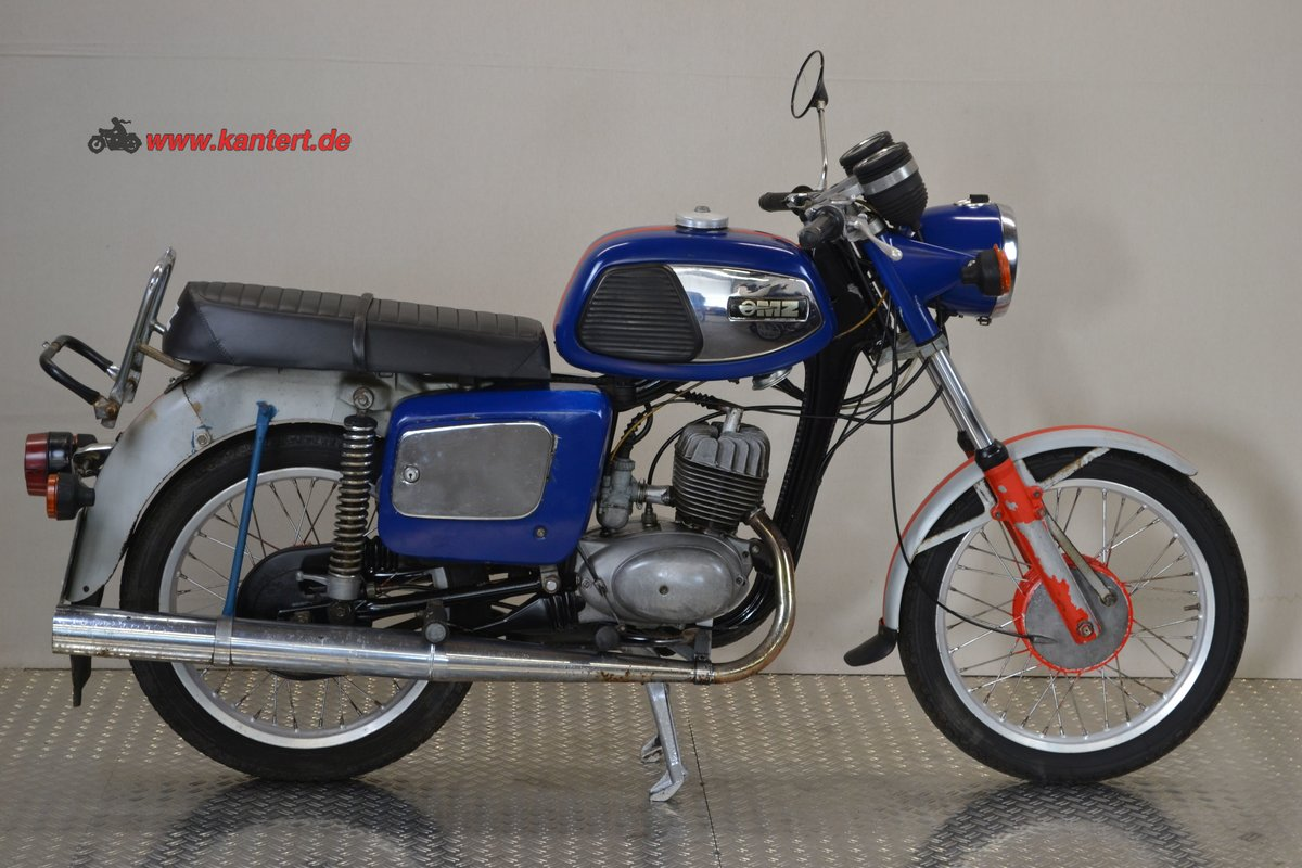 1979 MZ TS 150, 149 cc, 8 hp For Sale (picture 1 of 12)