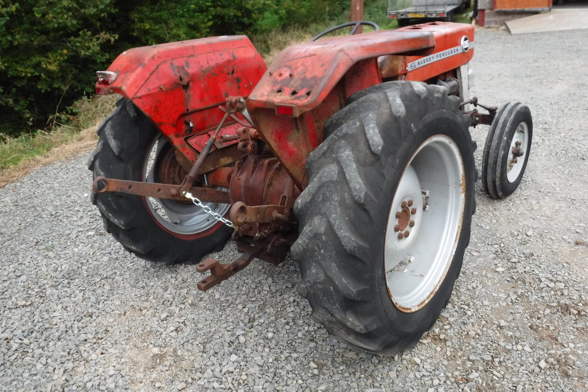 1970 MASEY FERGUSON 135 RUNNING DRIVING FIXER UP CAN DELIVER SOLD (picture 6 of 6)