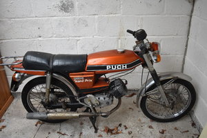 1976 Puch Grand Prix, low mileage, one previous owner £1800-