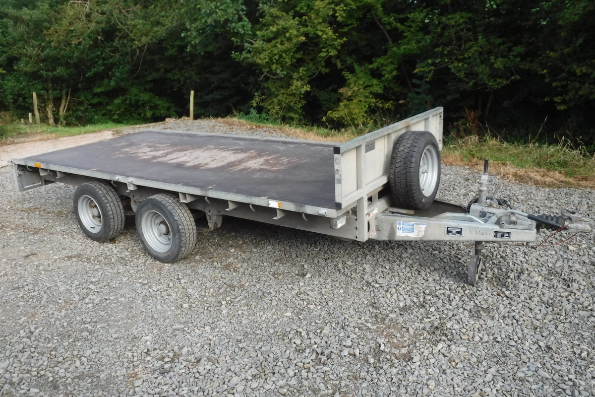 2013 IFOR WILLIASM LM125 MAIN DEALER PX 12X5 BARGAIN TRAILER SOLD (picture 1 of 6)
