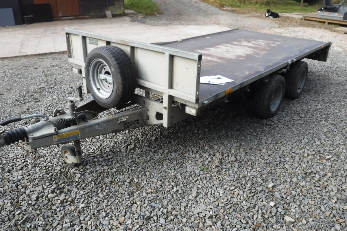 2013 IFOR WILLIASM LM125 MAIN DEALER PX 12X5 BARGAIN TRAILER SOLD (picture 5 of 6)