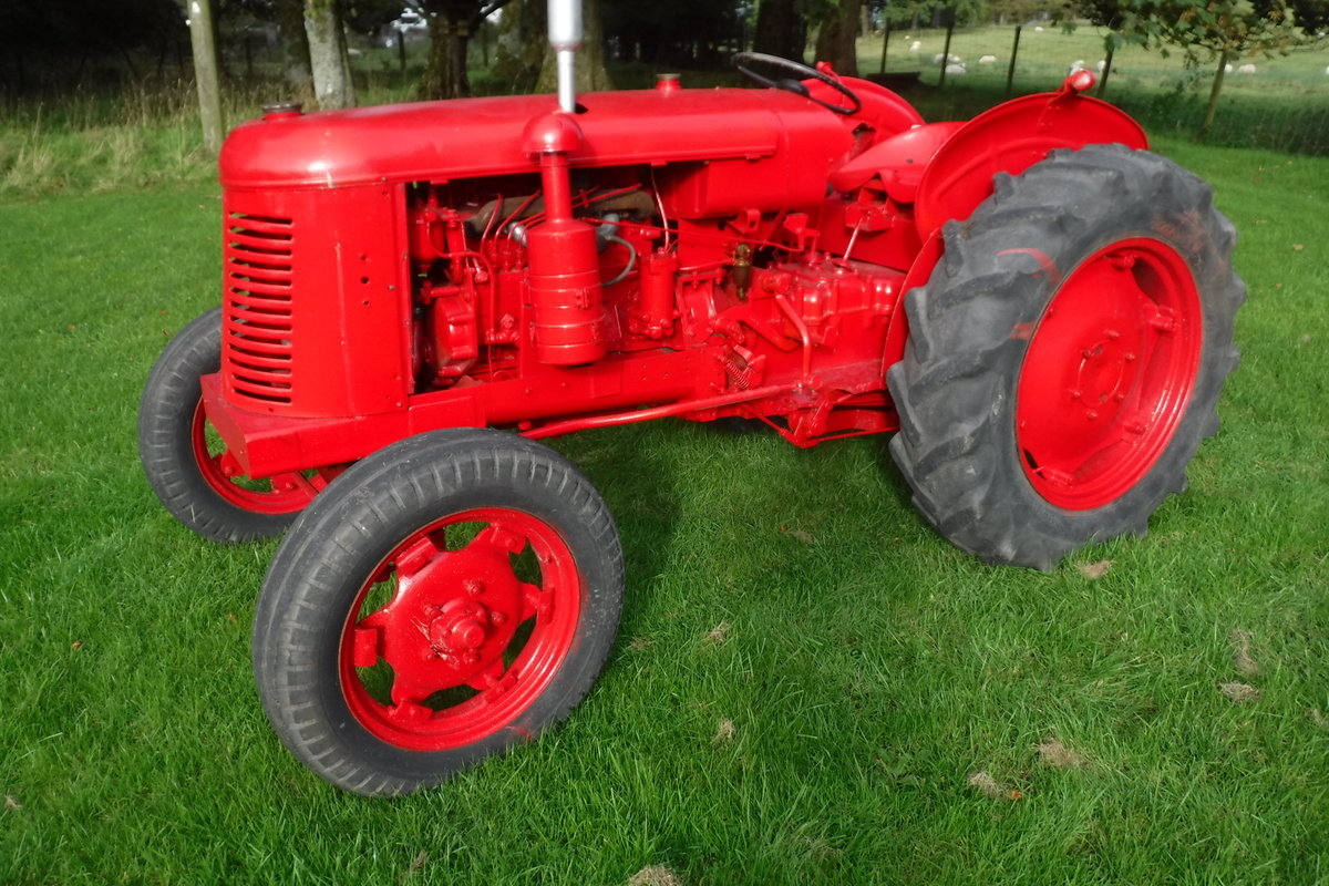 1957 DAVID BROWN 25D GREAT RUNNING DIESEL VINATGE TRACTOR For Sale (picture 2 of 6)