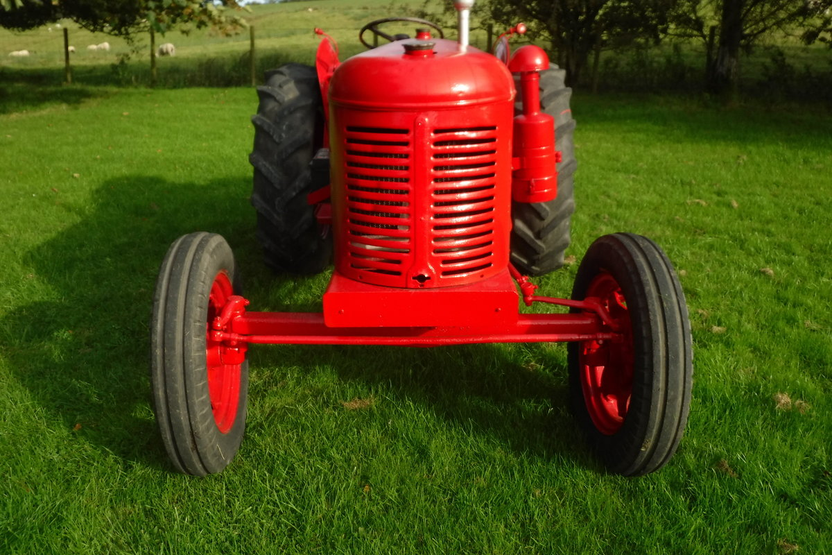 1957 DAVID BROWN 25D GREAT RUNNING DIESEL VINATGE TRACTOR For Sale (picture 4 of 6)