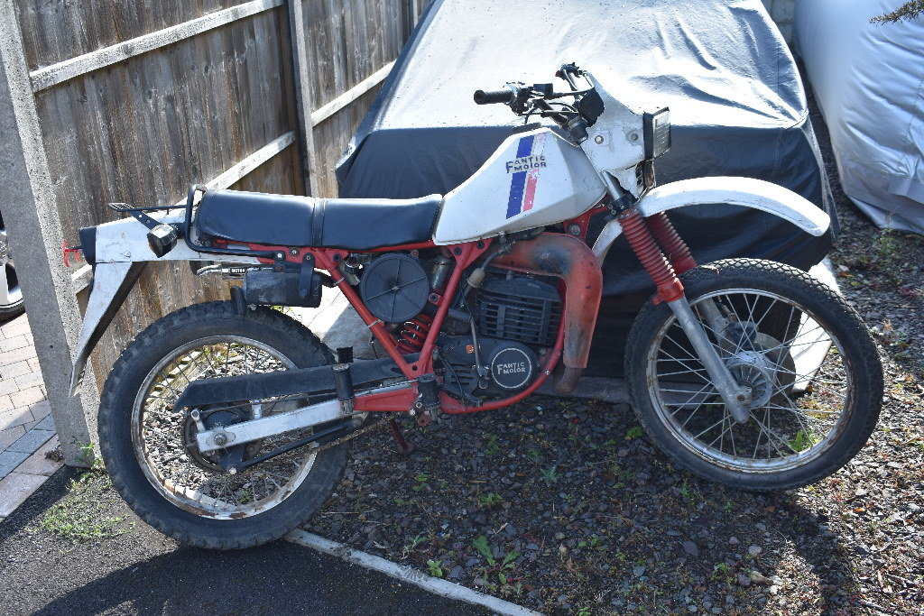 C1985 Fantic Enduro project 05/10/2019 SOLD by Auction (picture 1 of 6)