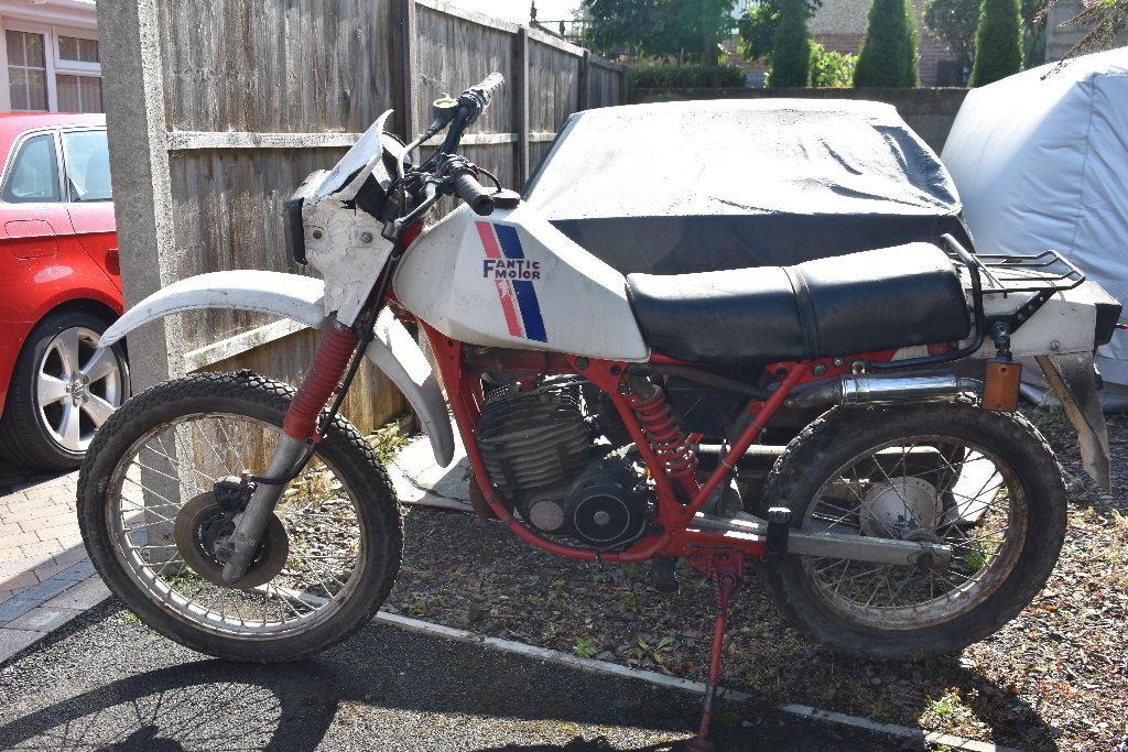 C1985 Fantic Enduro project 05/10/2019 SOLD by Auction (picture 5 of 6)
