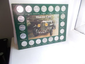 1970 SHELL HISTORIC COIN COLLECTION