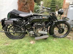 1924 Stedman 980cc Combination For Sale by Auction