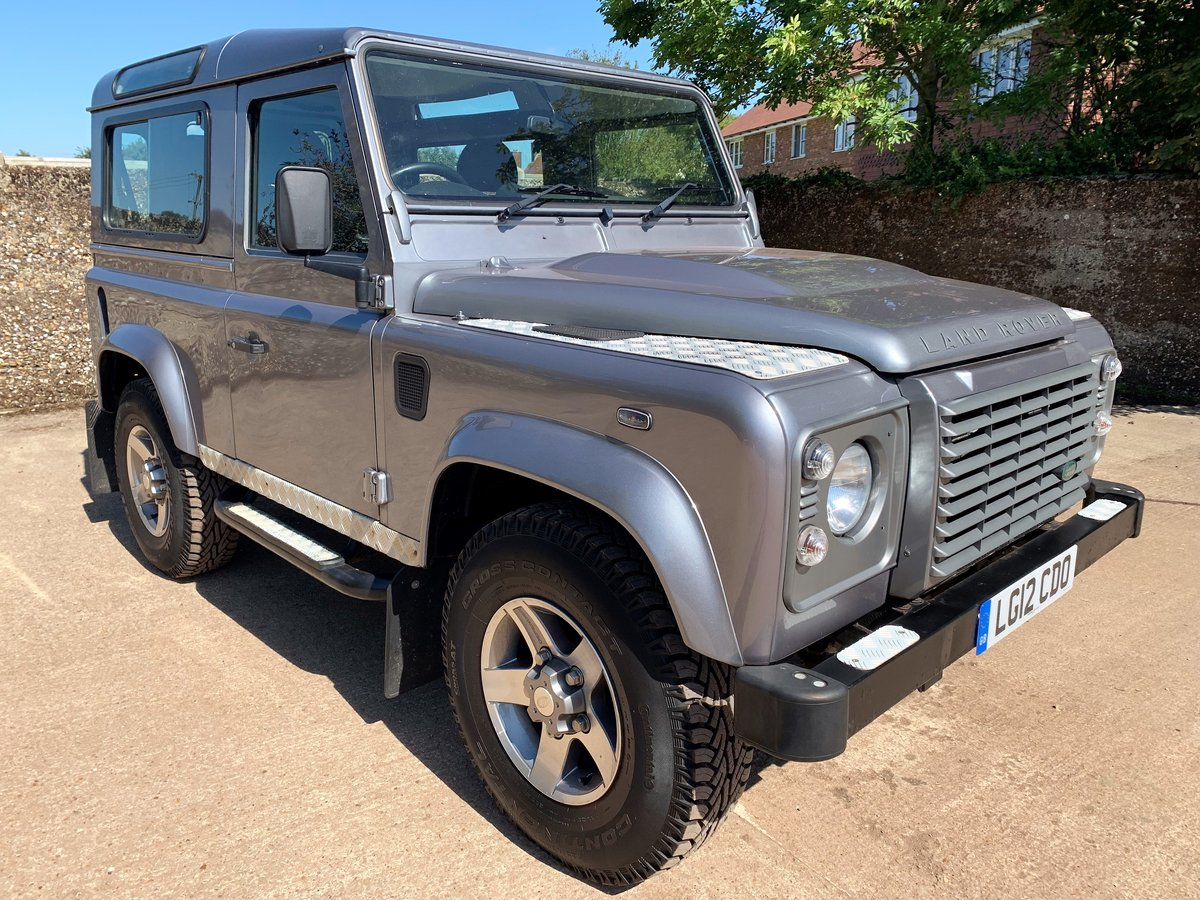 2012 defender 90 2.2TDCi XS station wagon+good history For Sale (picture 2 of 6)