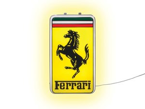 Ferrari Illuminated Sign For Sale by Auction