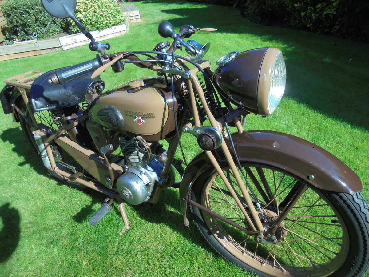 1951 motobacane 125cc dc45 stunning bike For Sale (picture 1 of 6)