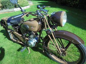1951 motobacane 125cc dc45 stunning bike For Sale