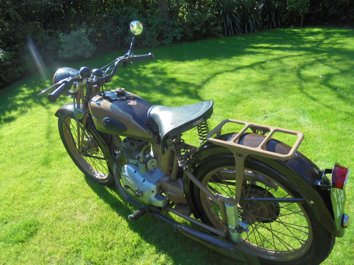 1951 motobacane 125cc dc45 stunning bike For Sale (picture 2 of 6)