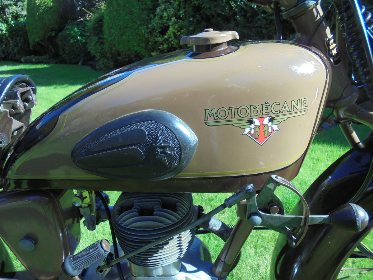 1951 motobacane 125cc dc45 stunning bike For Sale (picture 3 of 6)