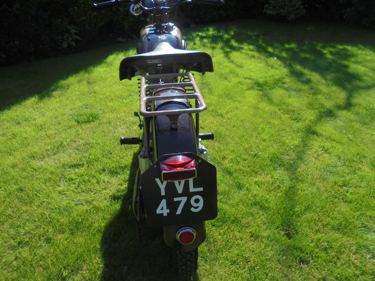 1951 motobacane 125cc dc45 stunning bike For Sale (picture 4 of 6)