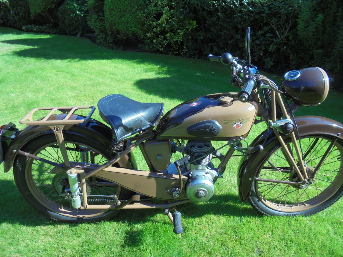 1951 motobacane 125cc dc45 stunning bike For Sale (picture 6 of 6)