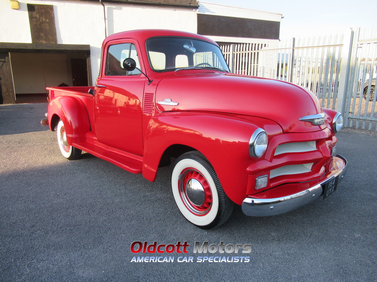 1954 chevrolet 3100 6 cyl auto stepside pickup For Sale (picture 3 of 6)
