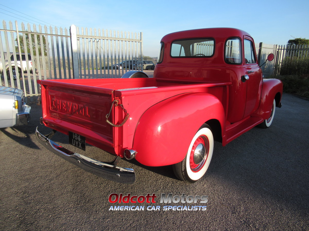 1954 chevrolet 3100 6 cyl auto stepside pickup For Sale (picture 4 of 6)