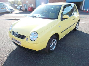 2000 VOLKSWAGEN LUPO 1.0 E YELLOW LOW MILES
