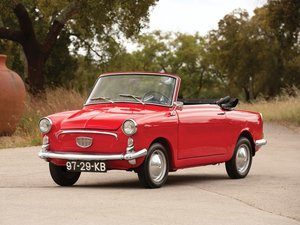1966 Autobianchi Bianchina Eden Roc Cabriolet  For Sale by Auction