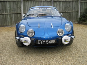 1964 Alpine Renault A110 1300 5 Speed For Sale