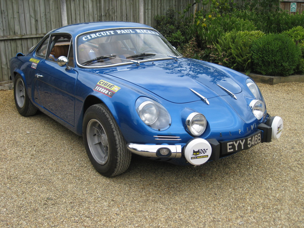 1964 Alpine Renault A110 1300 5 Speed For Sale (picture 2 of 6)