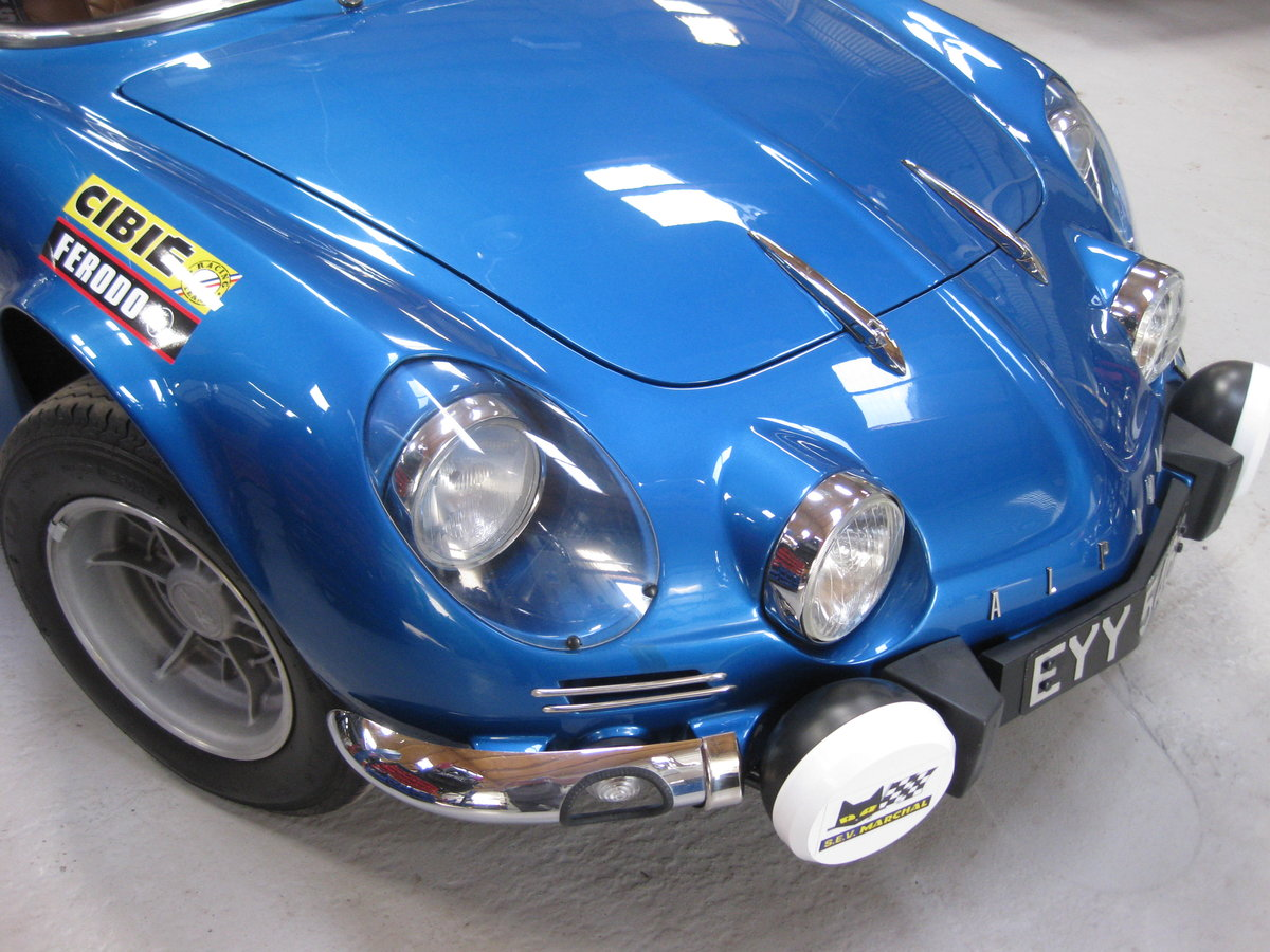 1964 Alpine Renault A110 1300 5 Speed For Sale (picture 3 of 6)