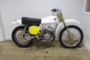 1972 CZ 250 cc Moto Cross Twin Shock , Restored  SOLD