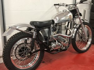 BSA GOLDSTAR CLIPPER DICK MANN BUILT SPECIAL TRIALS PRE 65