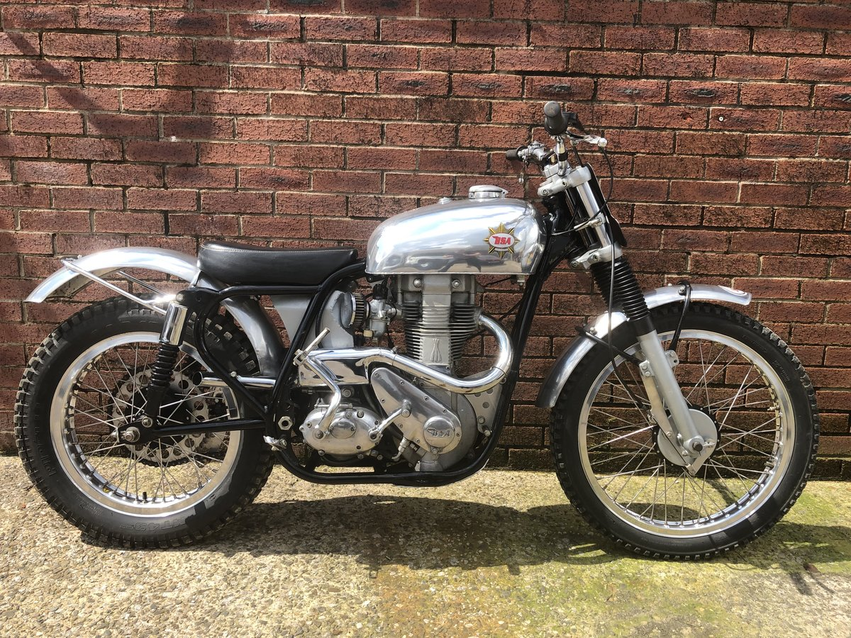 1959 BSA GOLDSTAR CLIPPER DICK MANN BUILT SPECIAL TRIALS PRE 65 For Sale (picture 6 of 6)