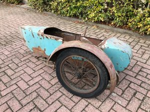indian princess sidecar ca. 1930 For Sale
