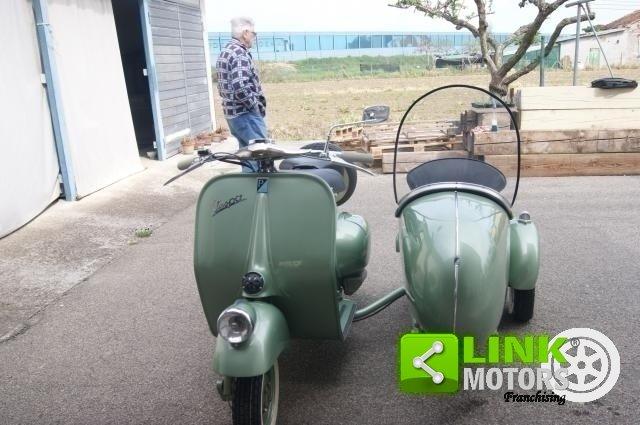 vespa bacchetta sidecar 1949 restauro totale For Sale (picture 2 of 6)
