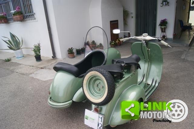 vespa bacchetta sidecar 1949 restauro totale For Sale (picture 6 of 6)