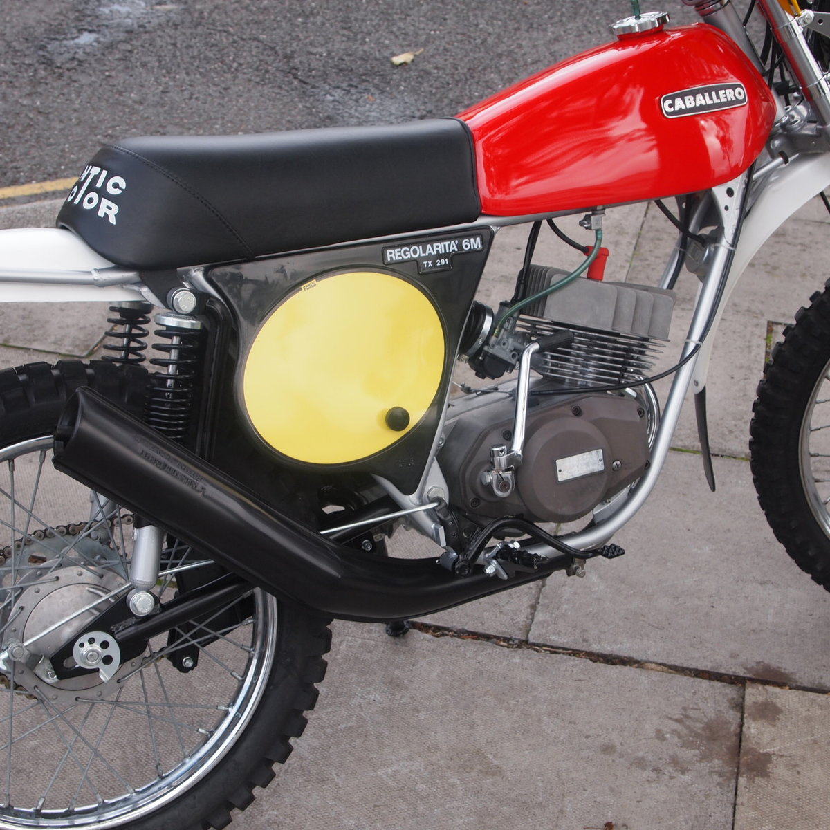 1977 Fantic TX291 Caballero 49cc. SOLD SOLD SOLD SOLD (picture 3 of 6)