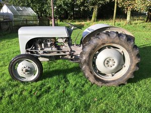 1951 FERGUSON TE20 GREY FERGIE ROAD REG TIDY ALL WORK CAN DELIVER SOLD