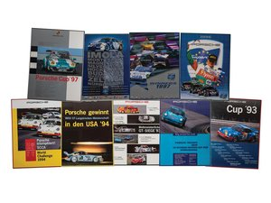 Porsche Cup Racing Framed Posters For Sale by Auction