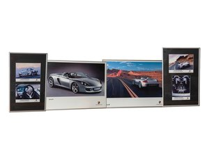 Porsche Carrera GT Framed Posters and Press Photographs For Sale by Auction