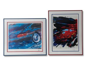 Porsche 356 and 911 Carrera Limited Edition Prints For Sale by Auction