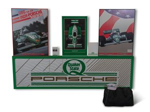 Porsche Quaker State Racing Posters and Collectibles For Sale by Auction