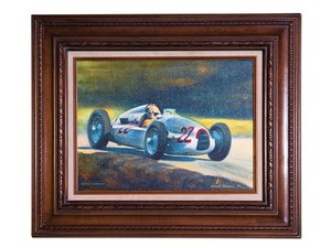 Auto Union Type-D by Gerald Freeman For Sale by Auction