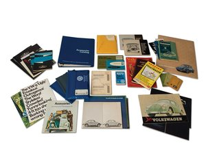 Volkswagen Brochures, Owners Manuals, Accessories Catalog, a For Sale by Auction