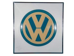 Volkswagen Dealership Large Plastic Sign For Sale by Auction