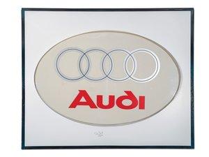 Audi Dealership Large Plastic Sign For Sale by Auction